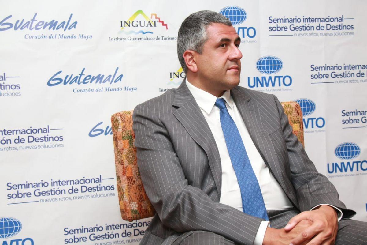 Zurab Pololikashvili en Guatemala