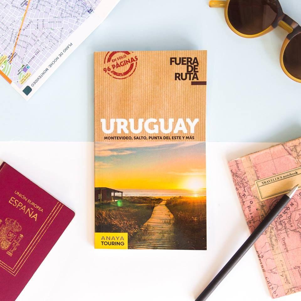 Guía Fuera de Ruta de Anaya Trotamundos recientemente lanzada en España