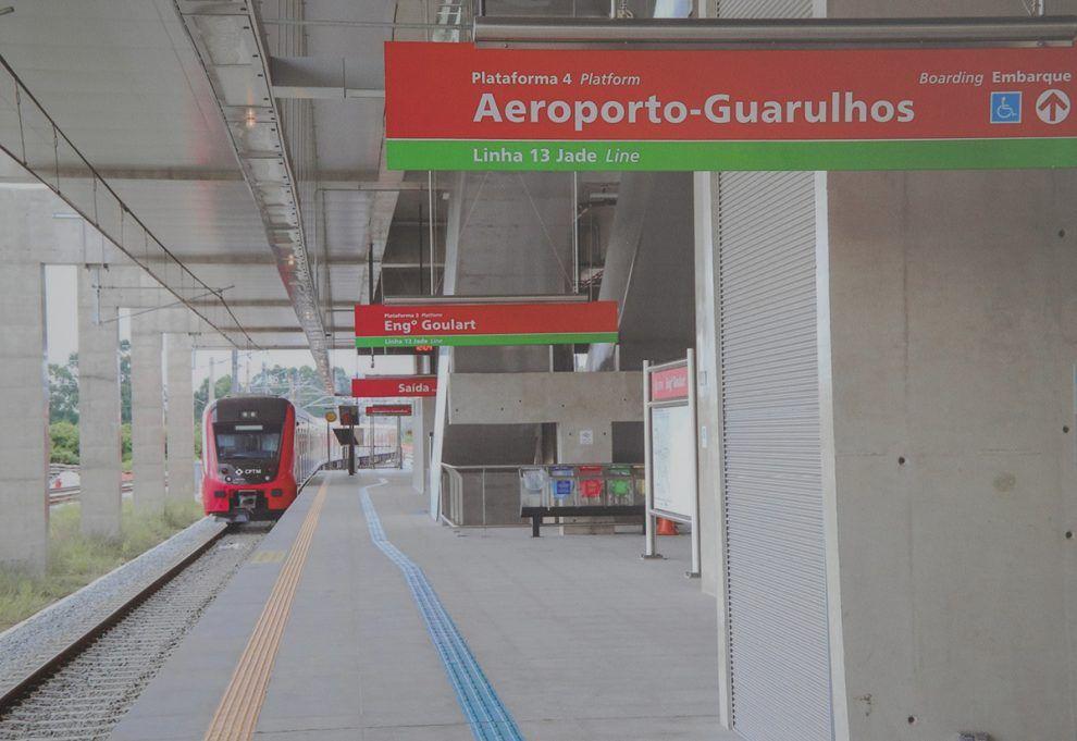 Estación Aeropuerto Guarulhos de CPTM