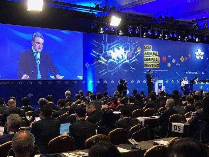 La 75a Asamblea General de la IATA se celebró este fin de semana en Seúl
