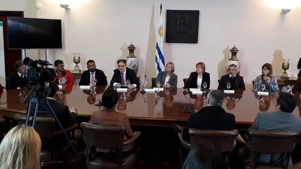 Autoridades en la presentación de la tercera Cumbre Iberoamericana de Turismo Accesible