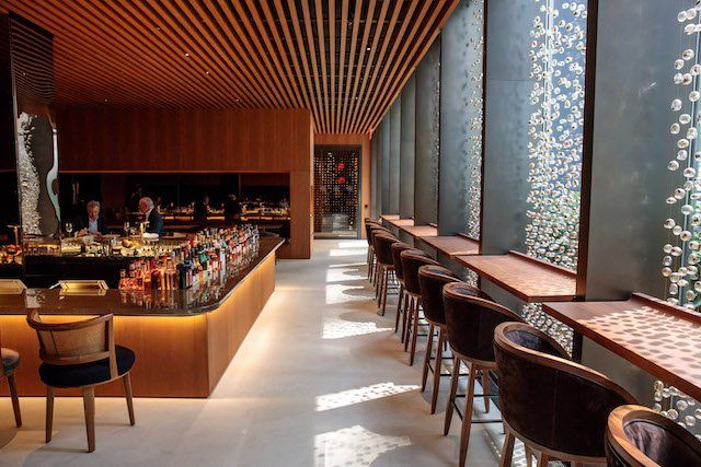 Restaurante Four Seasons de Nueva York. Foto: @NYCPublishing