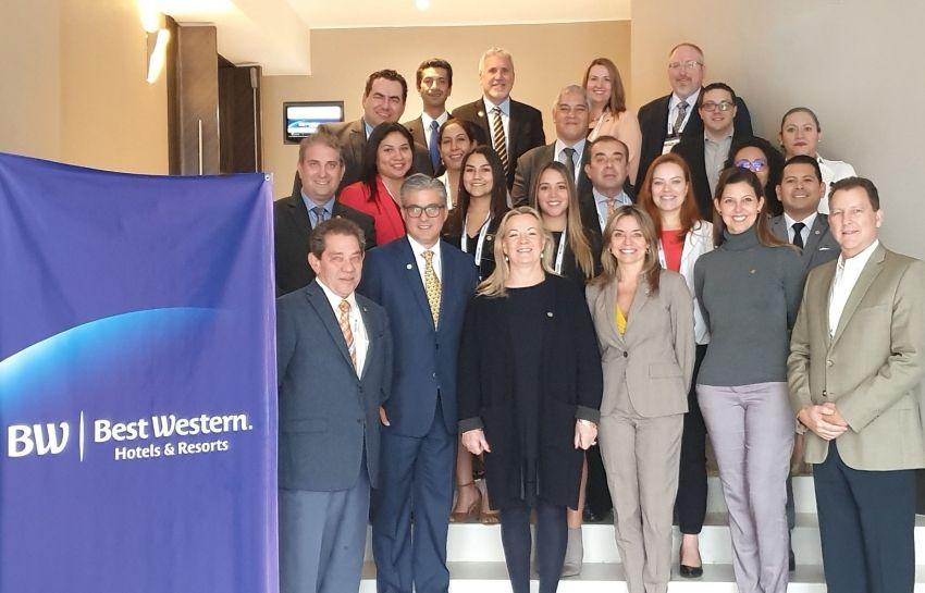 Representantes de hoteles Best Western de Latinoamérica se reunieron en Lima