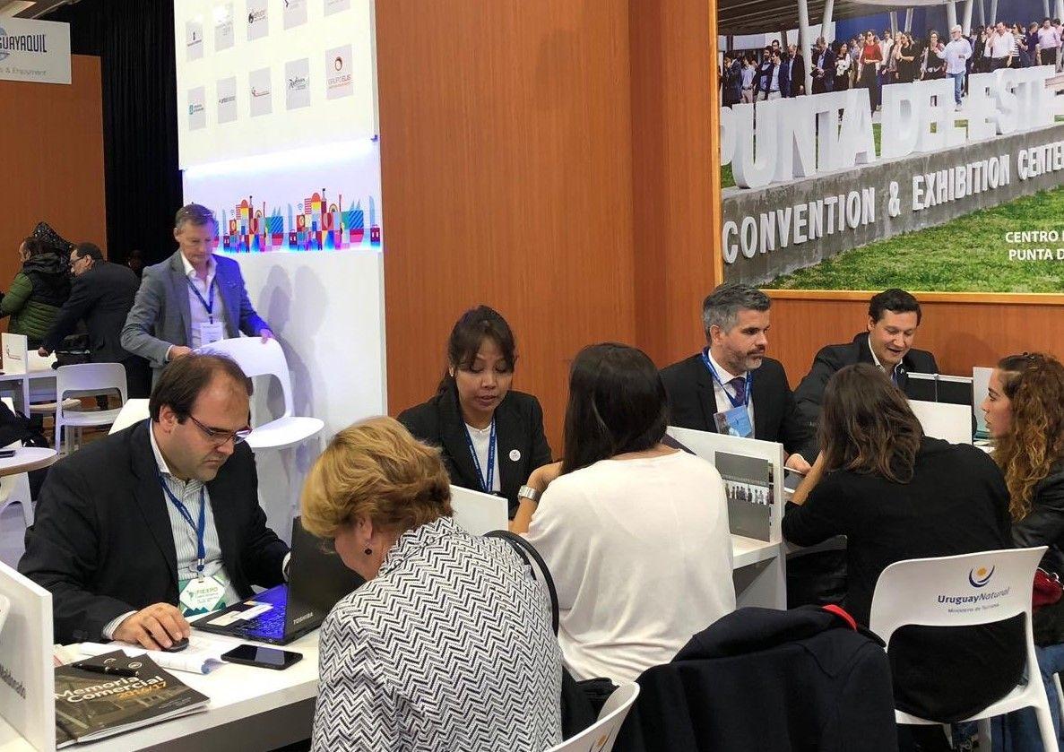 Pabellón de Uruguay en FIEXPO 2019