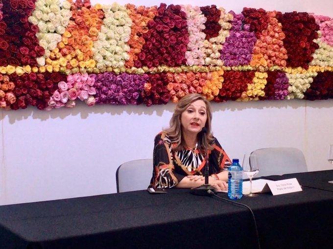 Rosi Prado de Holguín, ministra de Turismo de Ecuador.