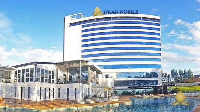 El Gran Nobile de Ciudad del Este fue el primer hotel de marca del grupo fuera de Brasil