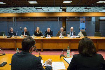 Representantes de la Cámara Uruguaya de Turismo en la Comisión de Turismo de Diputados