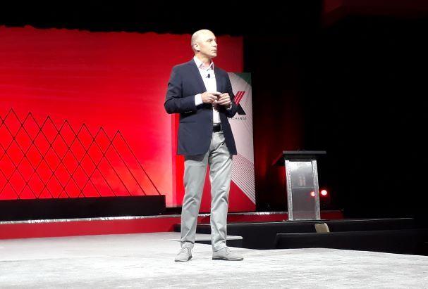 Sean Menke, presidente y CEO de Sabre en el STX 2019 de Las Vegas