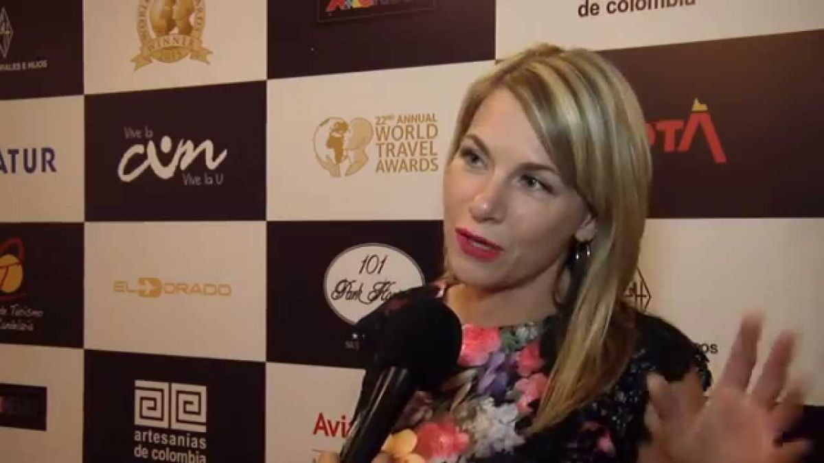 Maren Hanschke, directora regional de FMC. Foto: World Travel Awards