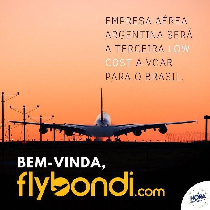 Brasil le dio la bienvenida a Flybondi