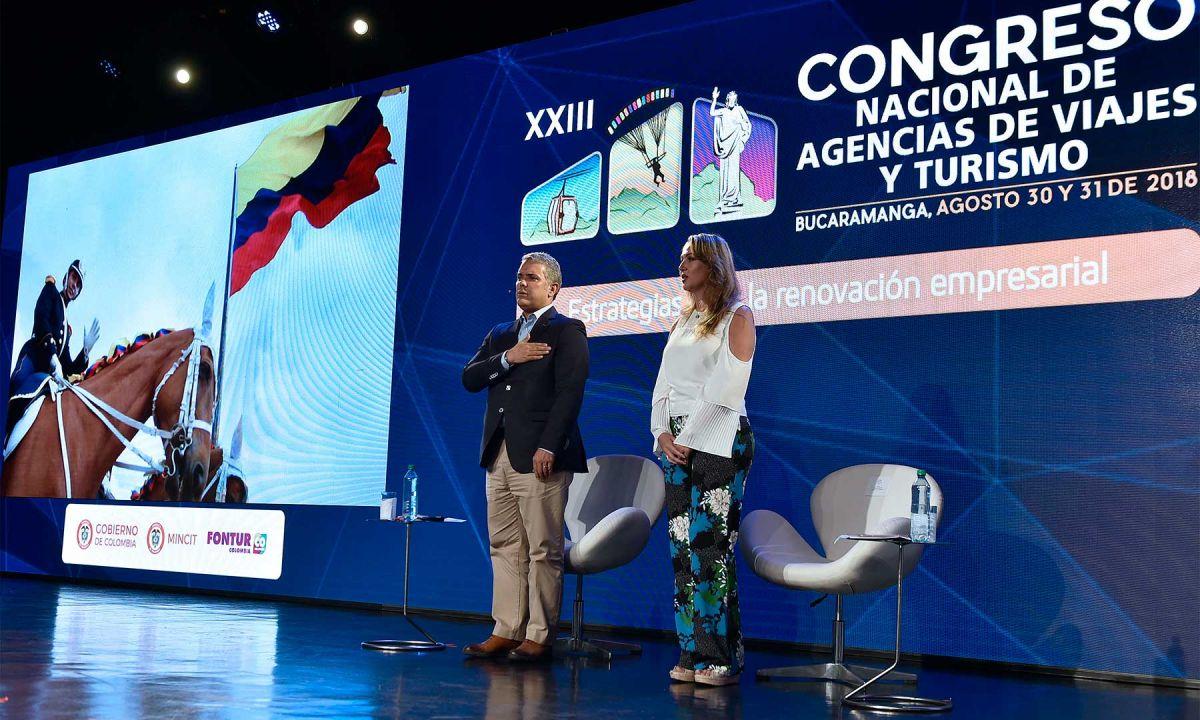 El presidente Iván Duque asistió al Congreso de 2018