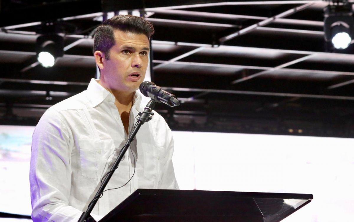 Fernando López, CEO de Lopesan, en la ceremonia inaugural