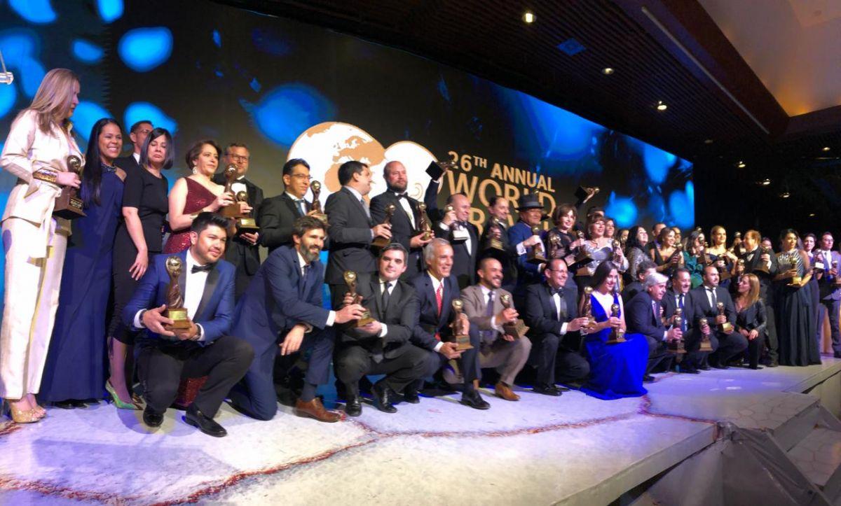 Entrega de los premios World Travel Awards sudamericanos en La Paz