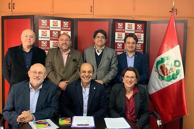 Directivos de Perú, Argentina, Chile, Uruguay y Ecuador se reunieron en Lima.