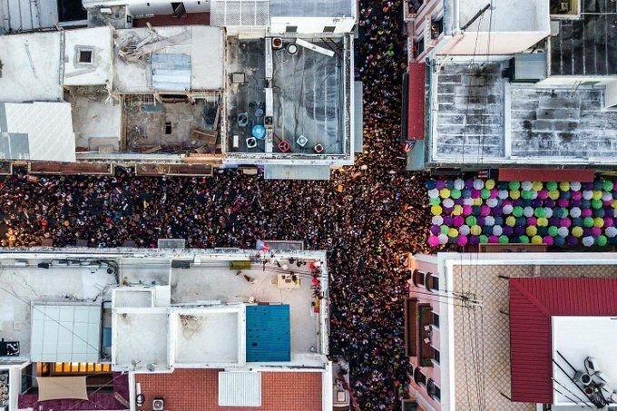 Manifestaciones en las calles de San Juan. Foto: Xavier García Rodríguez