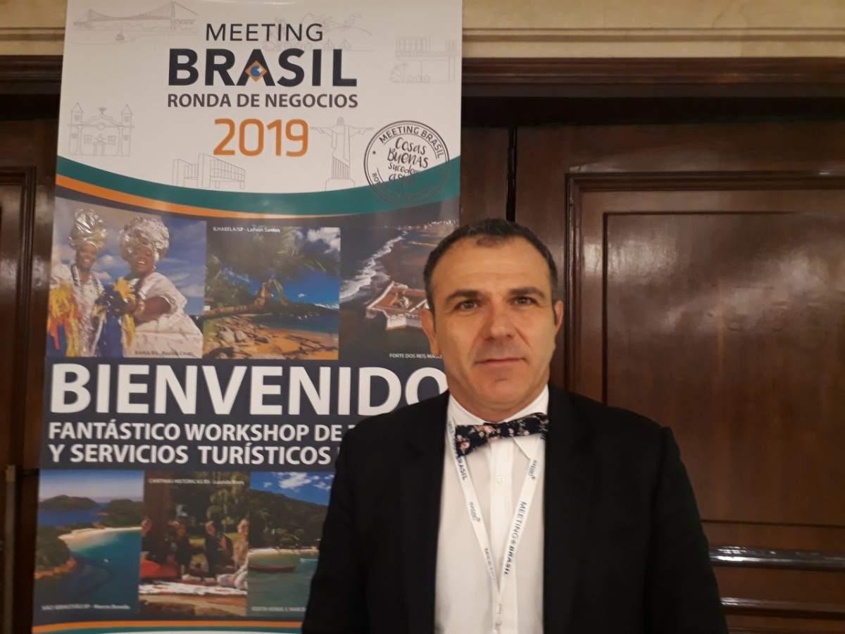Jair Pasquini, de Expan Mais, organizador de Meeting Brasil