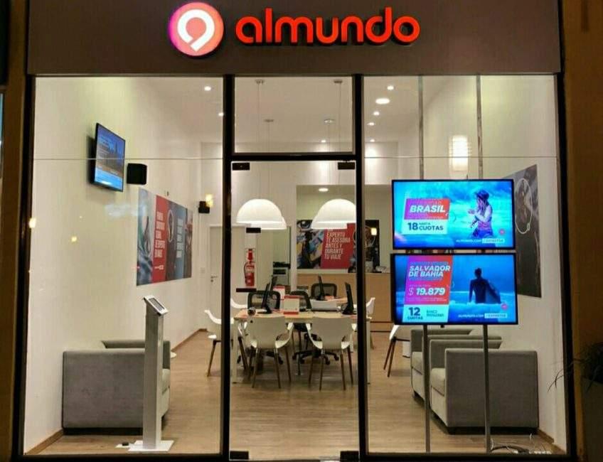 Almundo tiene tiendas físicas en los cuatro principales mercados de América Latina: Argentina, Brasil, México y Colombia