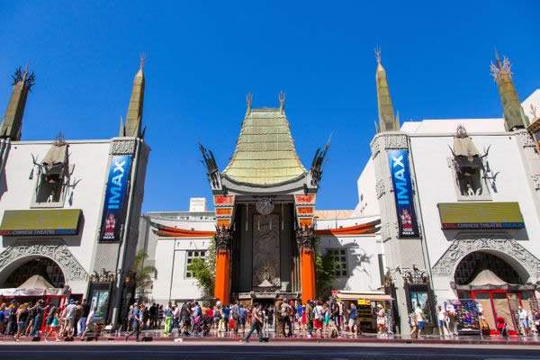 Chinese Theatre, en Hollywood.
