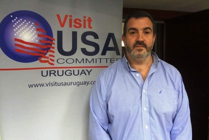 Gonzalo Rodríguez, presidente del Comité Visit USA Uruguay