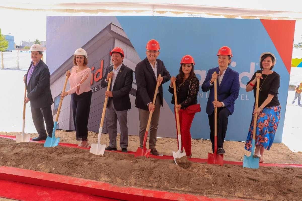 Comienzo de la construcción del hotel Avid en Fresnillo, Zacatecas