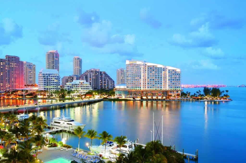 Miami tiene una cuota importante de las llegadas internacionales