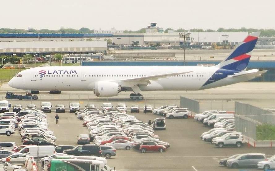 Boeing B787-9 Dreamliner de LATAM Airlines