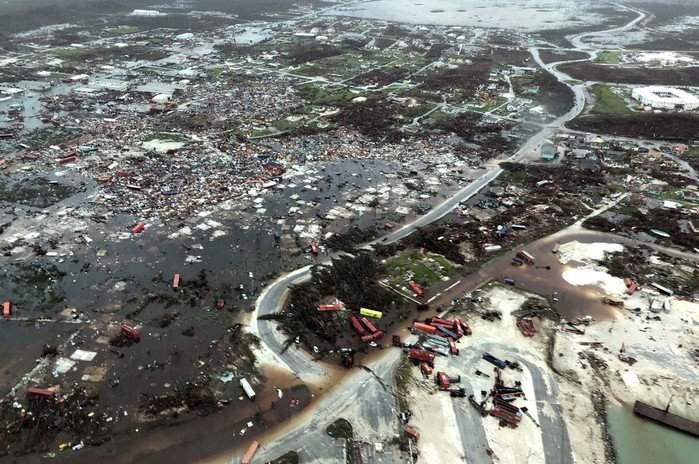 Los daños en Bahamas recién comienzan a ser evaluados; 70.000 personas necesitan asistencia
