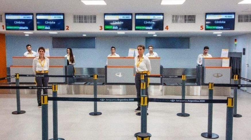 Aeropuerto El Palomar, en Buenos Aires