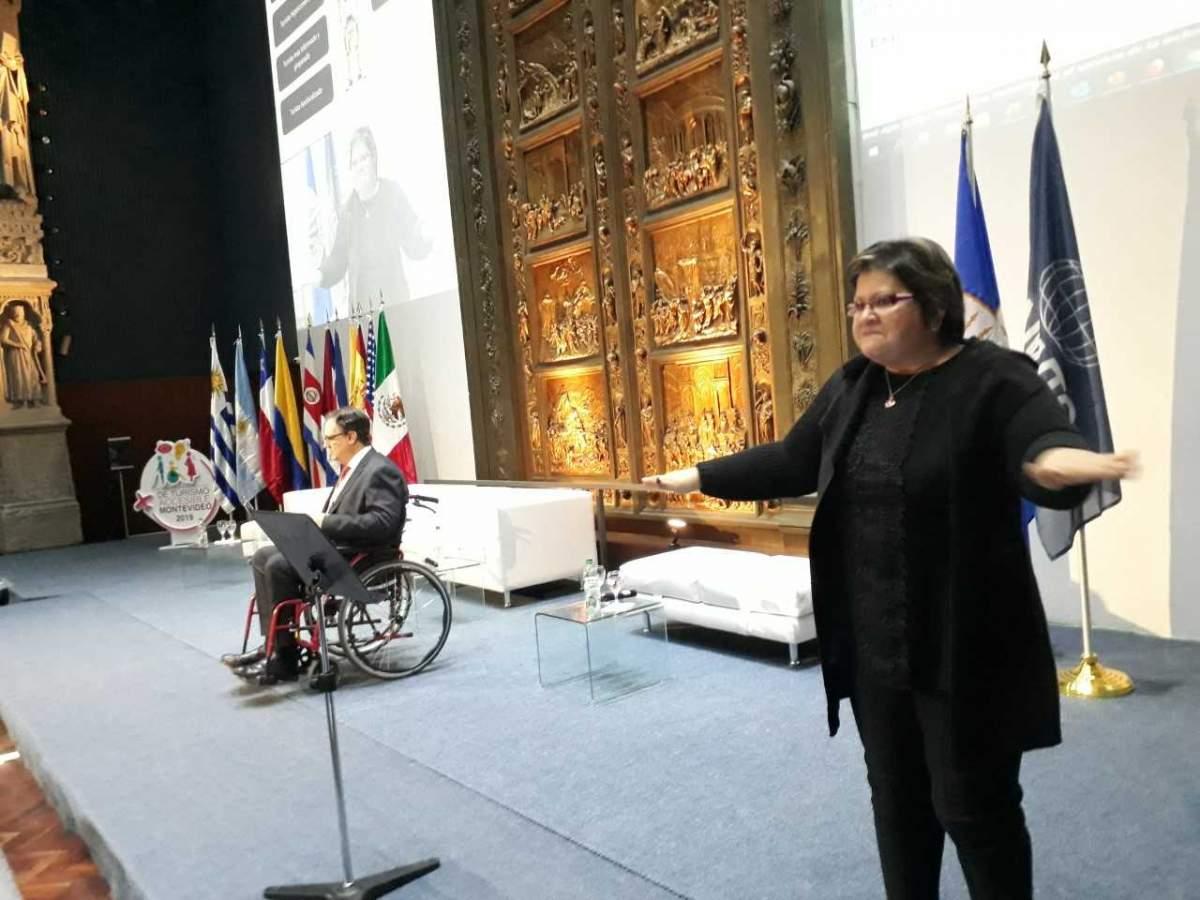 El presidente de la Red Iberoamericana de Turismo Accesible en la Cumbre de Montevideo