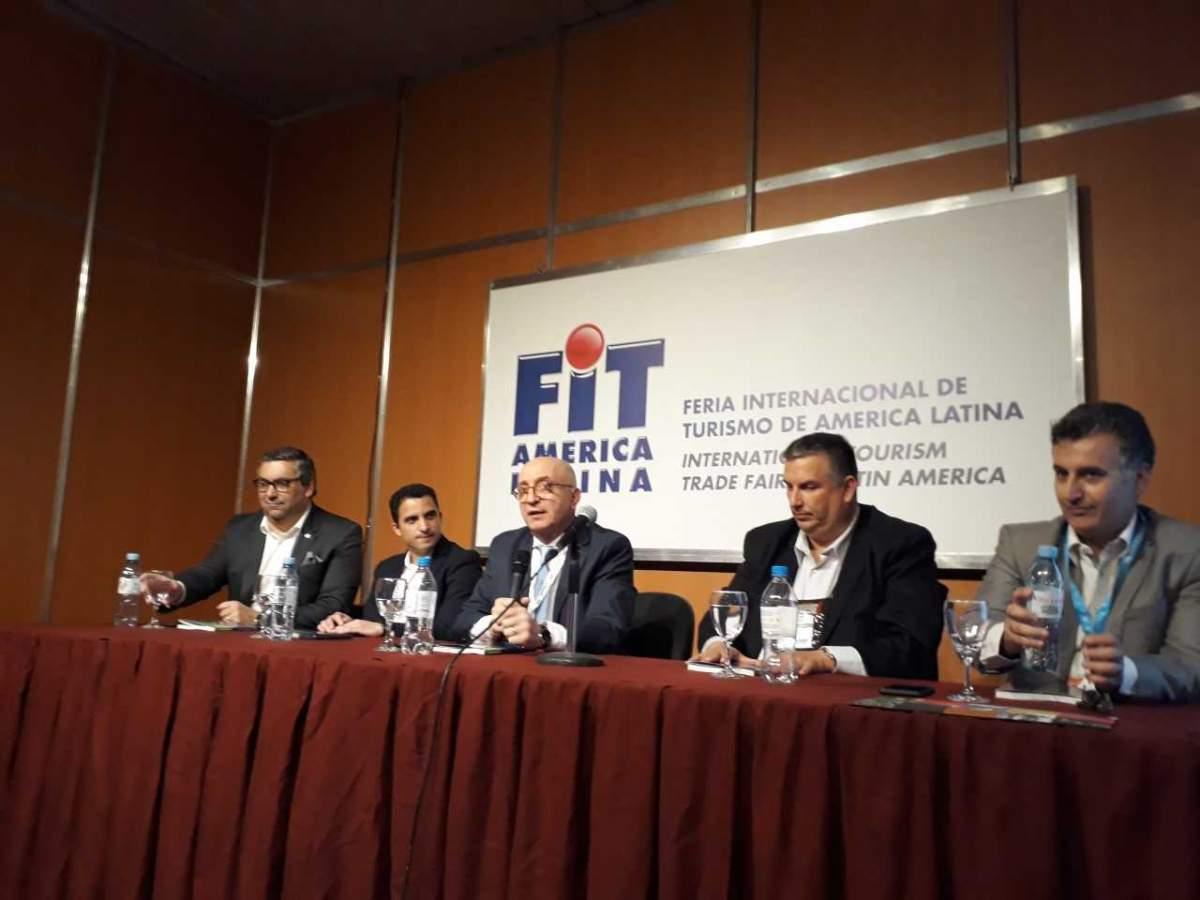 Arnaldo Nardone en la FIT 2019