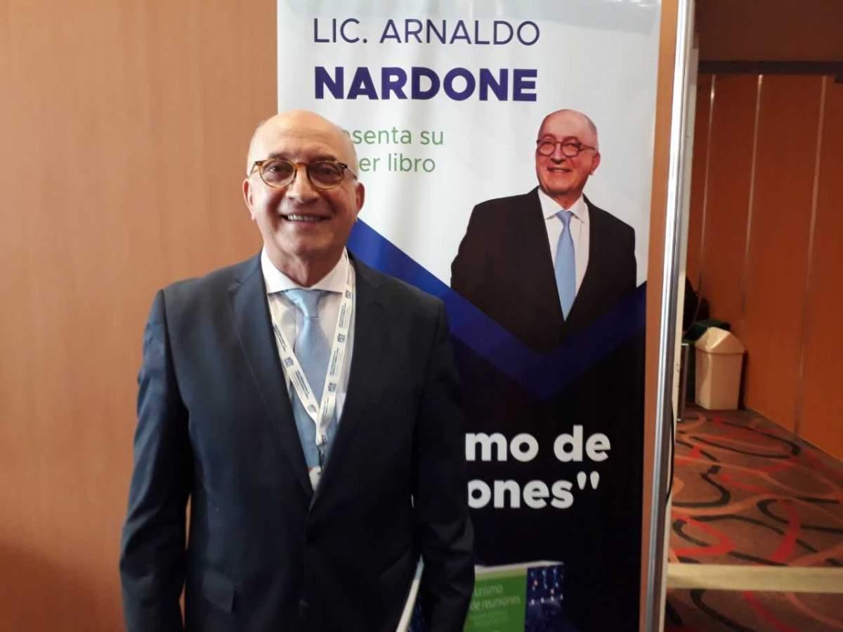 Arnaldo Nardone fue acompañado por referentes de la industria de reuniones