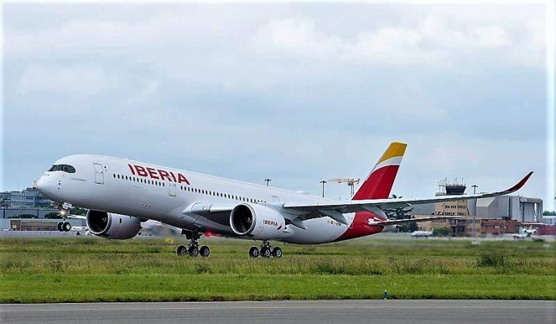 Airbus A350-900 de Iberia