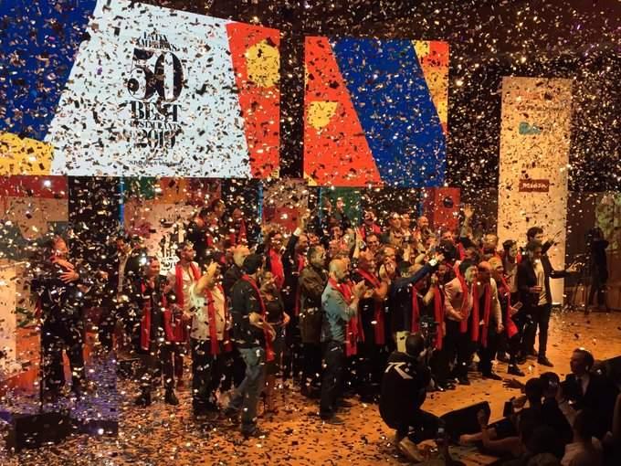 Los premios 50 Best 2019 fueron entregados por primera vez en Argentina