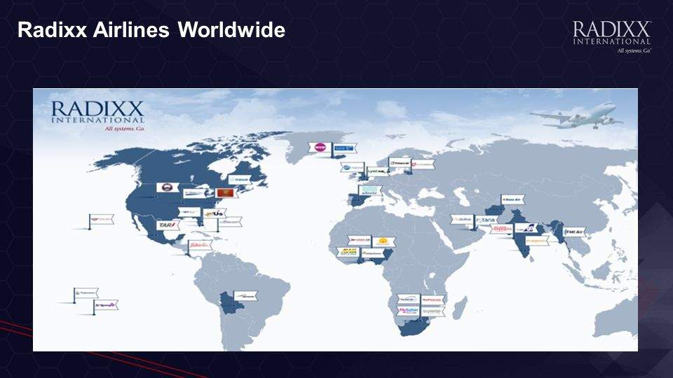 Redixx tiene clientes en todo el mundo