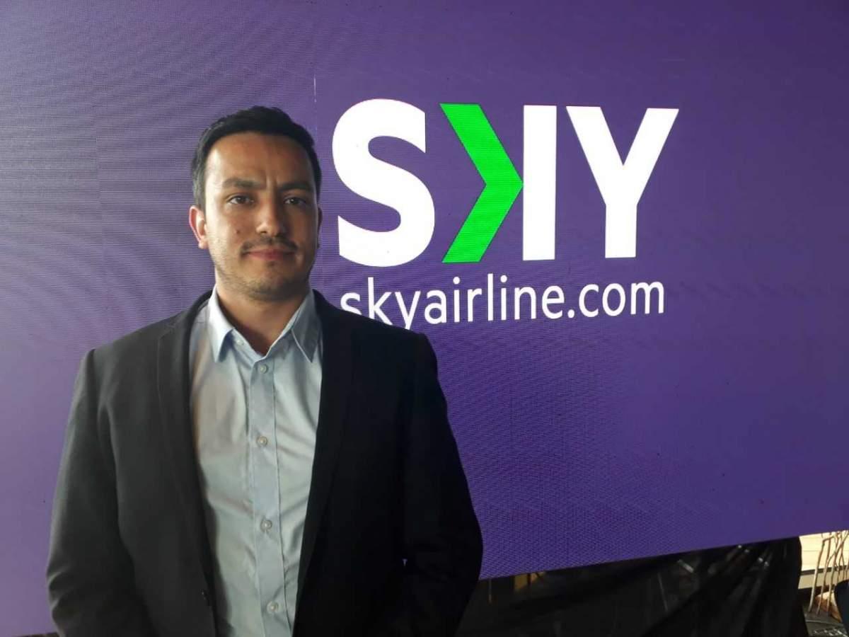 Stefano De Luca, subgerente de Ventas de SKY Airline