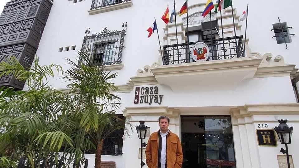 Roberto Novoa, creador y responsable de los hoteles Casa Susay