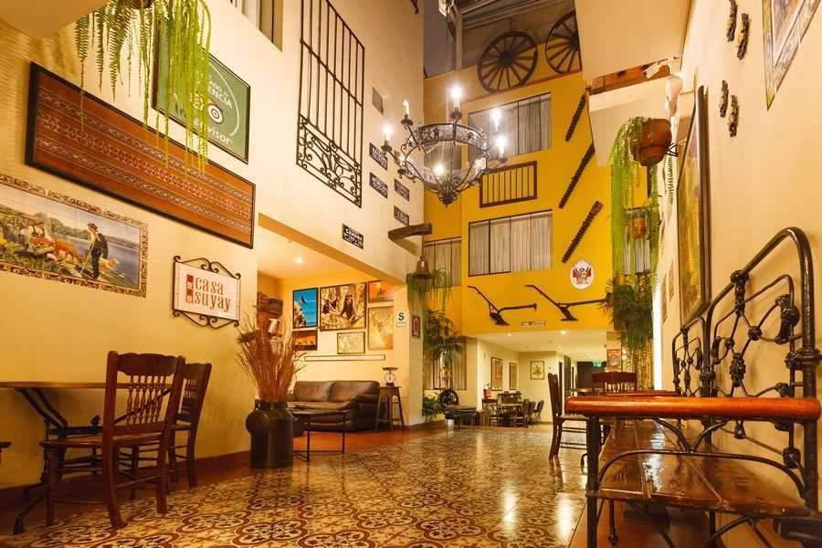 Hotel Casa Susay II, en el distrito limeño de Miraflores