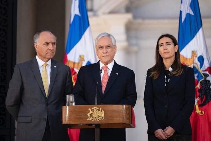 Piñera anunció la cancelación de la cumbre de APEC y la COP 25