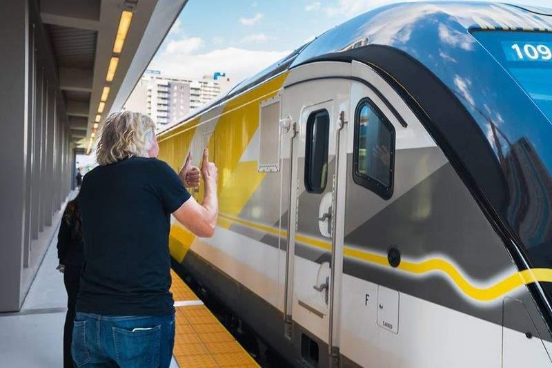 El tren de la Florida llegará hasta el puerto de Miami