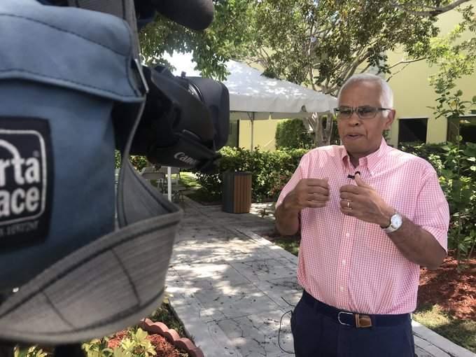 Dionisio D'Aguilar dio el informe oficial de Bahamas