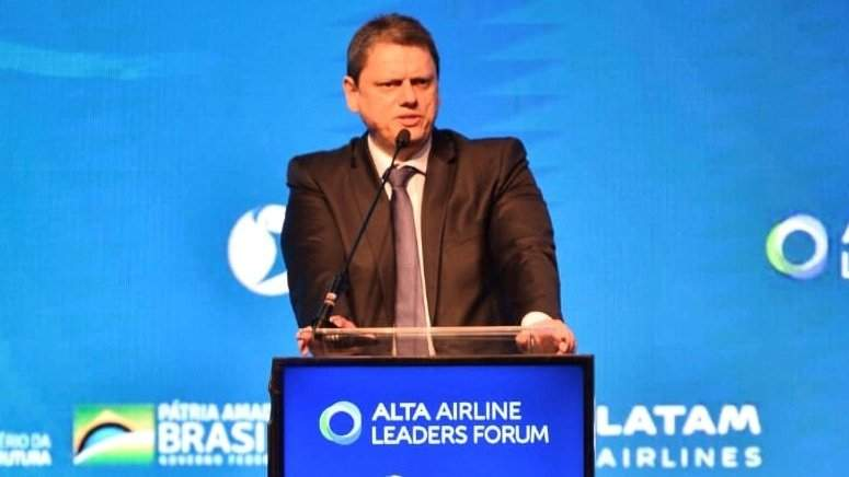 Tarcisio Gomes de Freitas, ministro de Infraestructura de Brasil. Foto: ALTA