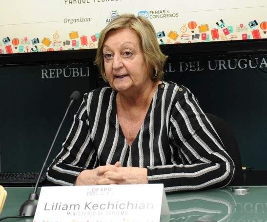 Ministra de Turismo de Uruguay, Liliam Kechichian