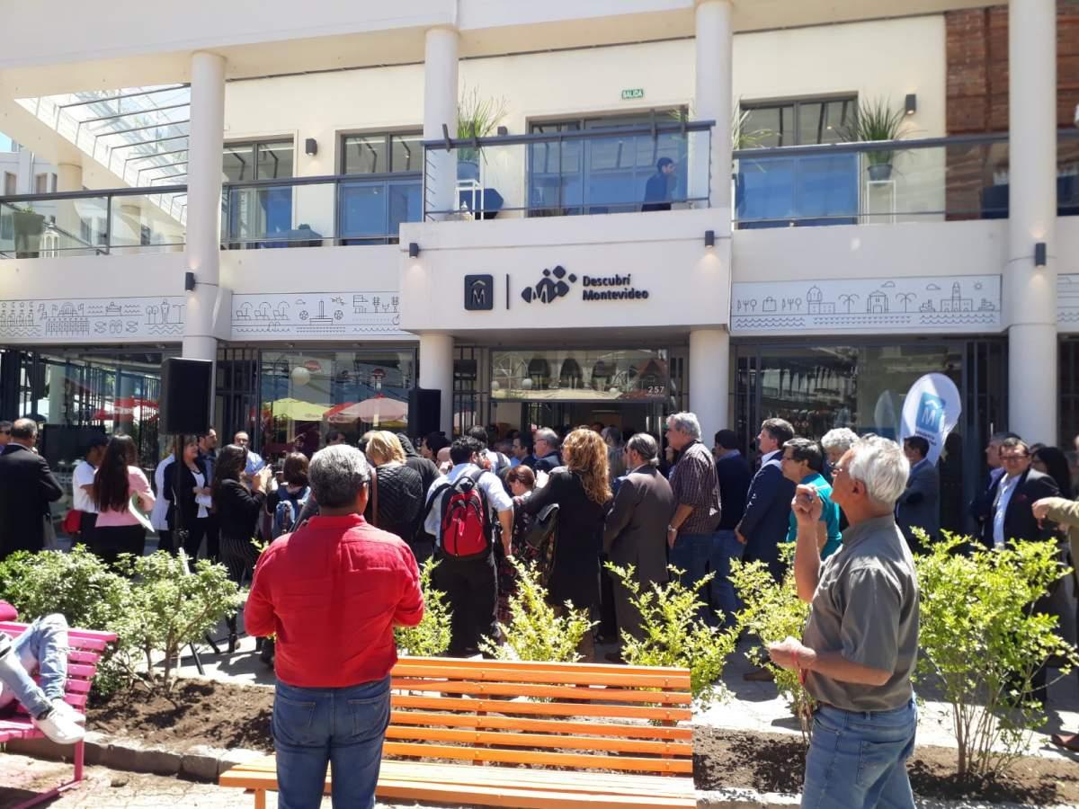 Nueva sede de turismo de Montevideo en el Mercado del Puerto