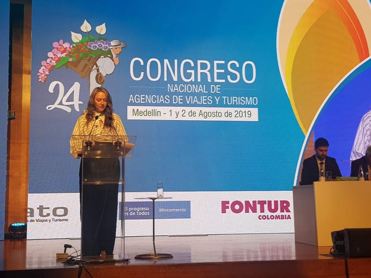 Paula Cortés, vicepresidenta de FOLATUR y presidenta ejecutiva de ANATO