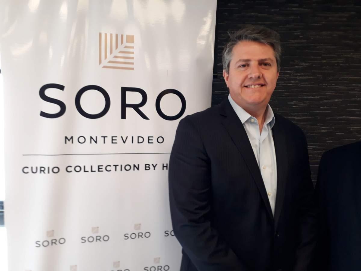 Agustín Maddocks, gerente de Hilton en Uruguay