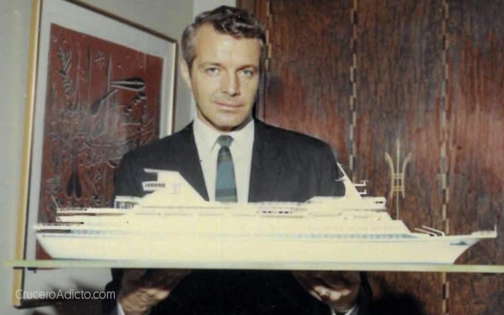 Edwin W. Stephan fue un visionario de la iindustria de cruceros. Foto: Cruceroadicto.com