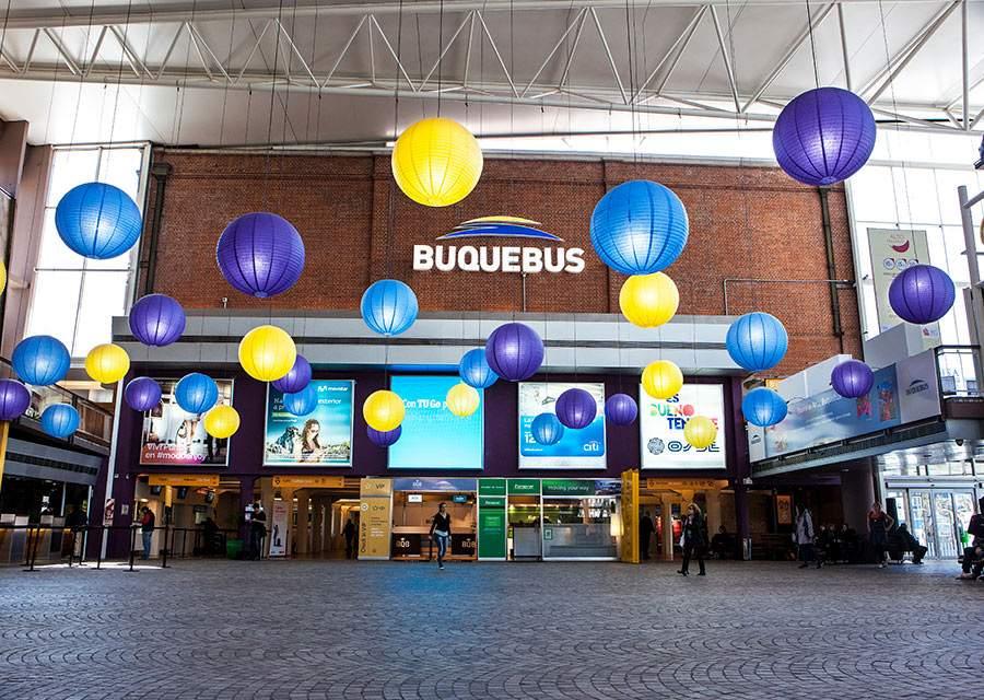 Terminal de Buquebus en Buenos Aires
