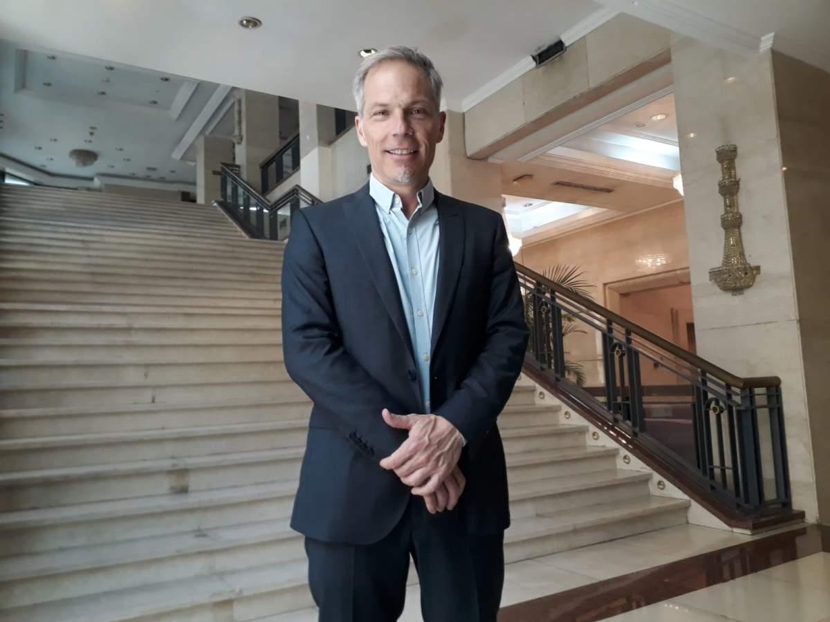 Diego Piquín. director del EMPROTUR de Bariloche