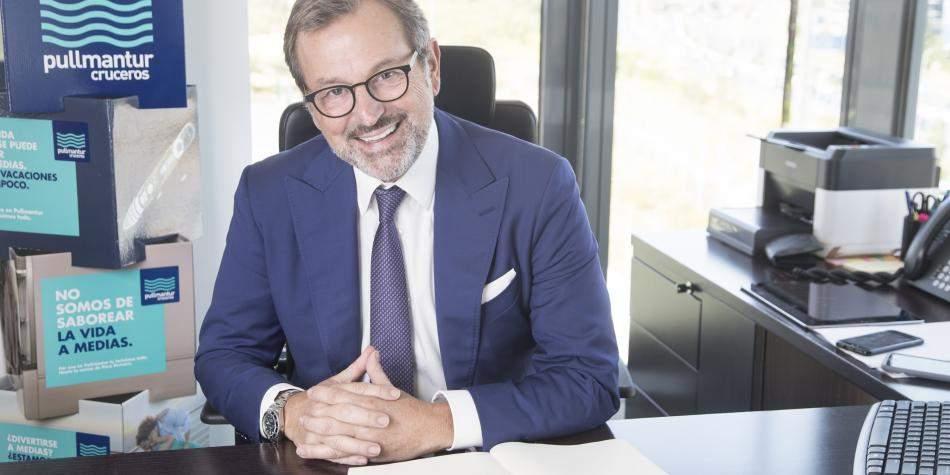 Richard Vogel, presidente y CEO de Pullmantur