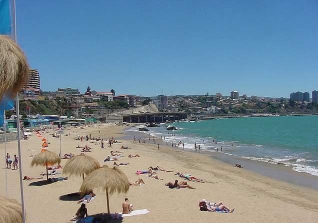 En Viña del Mar se notará la falta de turistas argentinos.